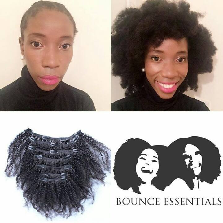 Bounce Essentials Synthetic Clip Ins 14 inches