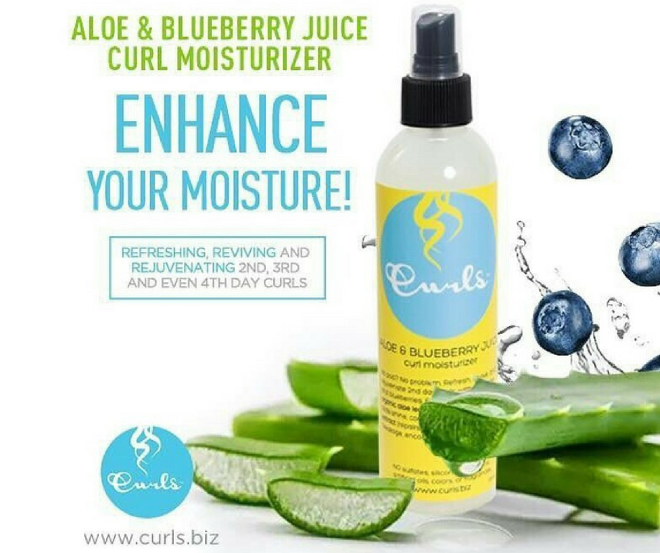 Aloe & Blueberry Juice Curl Moisturizer
