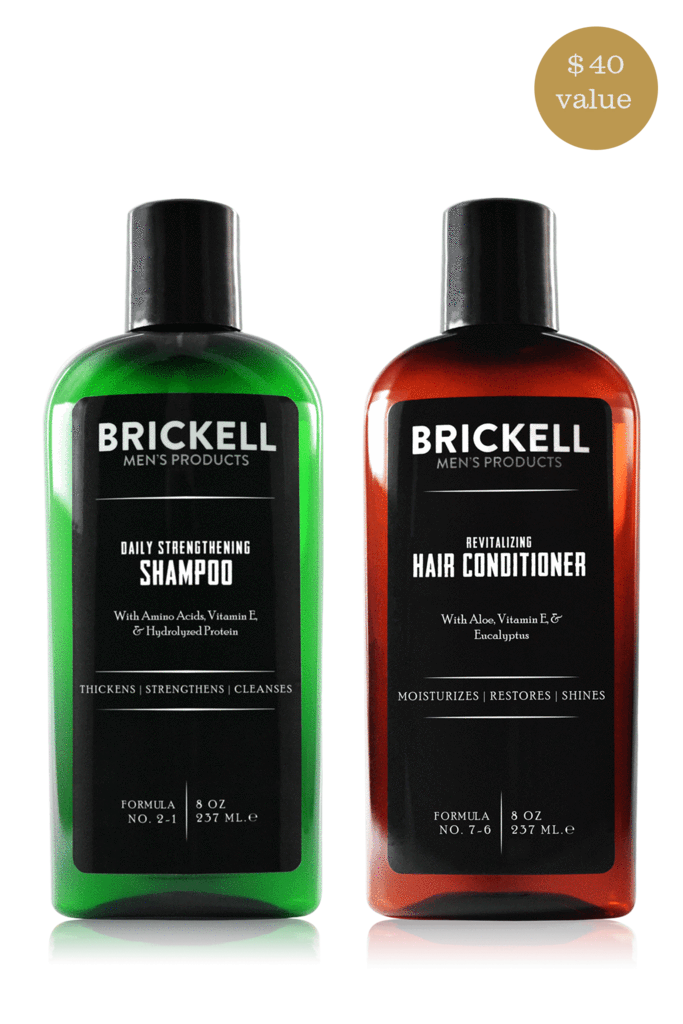 Brickell Men's Hair Routine